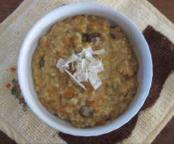 Carrot Cake Steel Cut Oats