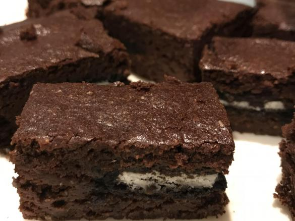 Oreo Brownie Vegan By Bushy A Thermomix Sup Sup Recipe In