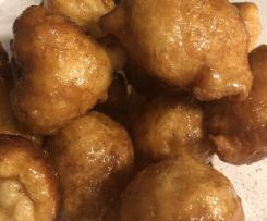 Loukoumades. Greek doughnuts