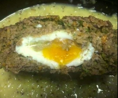 Eggy Herbed Meat Loaf (Paleo, GAPS, Gluten/Nightshade Free)