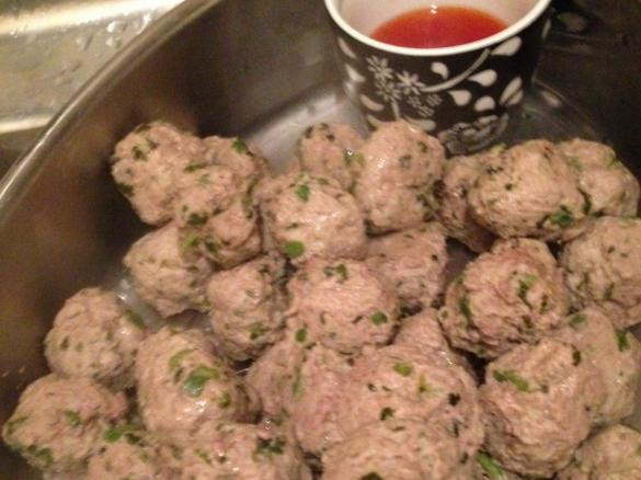 Middle Eastern Lamb Meatballs By Arwensthermopics A Thermomix Sup
