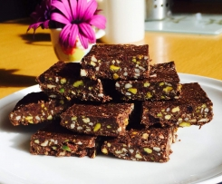Healthy Chocolate Protein Slice