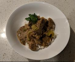 Monday Night (Beef or Lamb) Curry