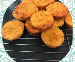 Zucchini and Sweet potato Muffins