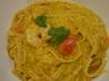Creamy Tomato, Prawn & Pumpkin Fettuccine