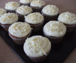 Chai & White Chocolate Cupcakes