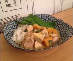 Thai Style Chicken and Pumpkin Curry