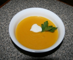 Carrot and Ginger Protein Soup