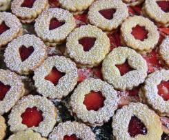 Linzer cookies (Spitzbuben)
