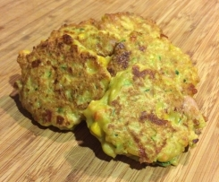 Sweet Corn and Vegetable Fritters