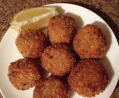 Spicy Chickpea and Carrot Falafels