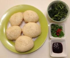 Jamie Oliver's Vegan Dim Sum Buns (steamed mushroom buns)