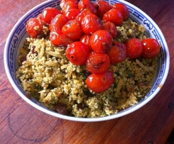 Moroccan style couscous salad