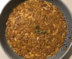 Fakes- Greek Lentil Soup