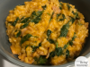 Bacon, Spinach & Red Pesto Risotto - Essential Living Mumma