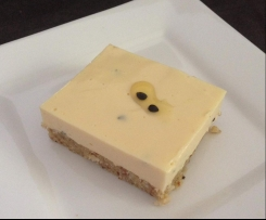 Ginger & Passionfruit Cheesecake Slice