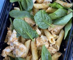 Sundried Tomato and Basil Chicken pasta salad