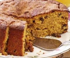 Pumpkin and Sultana Cake