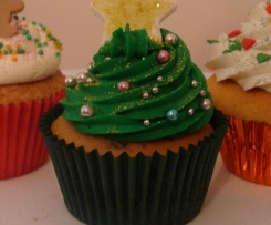 Oh Christmas Tree Cupcakes