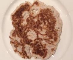 Coconut flour and Psyllium Flatbread