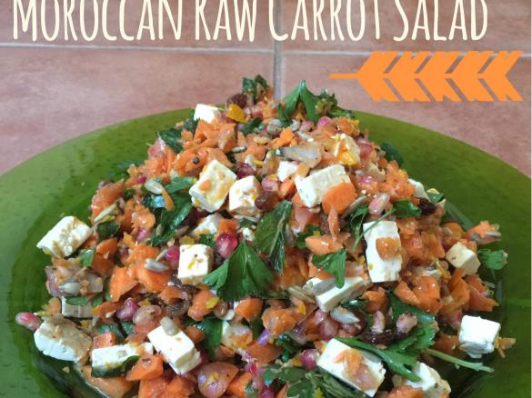 Moroccan raw carrot salad by mrs thermovixon a thermomix sup thumbnail image 1 forumfinder Gallery