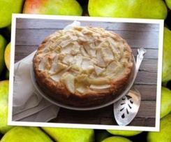 Italian Pear Cake ( Torta Di pere)