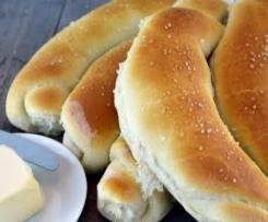 Soft bread rolls (Bosnian Kifle)