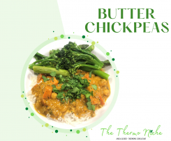 Butter Chickpeas by The Thermo Niche