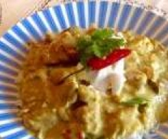 Clone of Kaffir Lime Chicken Curry LCHF