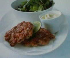 Lime & Lemongrass Salmon Cakes