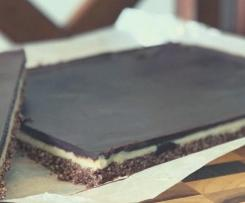 LCHF Raw Caramel Slice