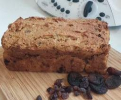 Gluten free dairy free, yeast free fruit loaf