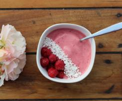 Raspberry Coconut Dessert Bowl