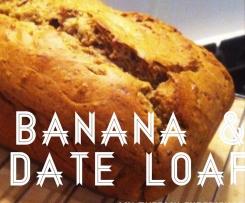 Banana & Date Cake (Sugar Free)