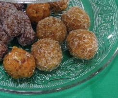 Carrot cake raw bliss balls (Wholefood Simply conversion)