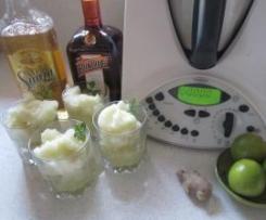 Ginger Margarita Sorbet