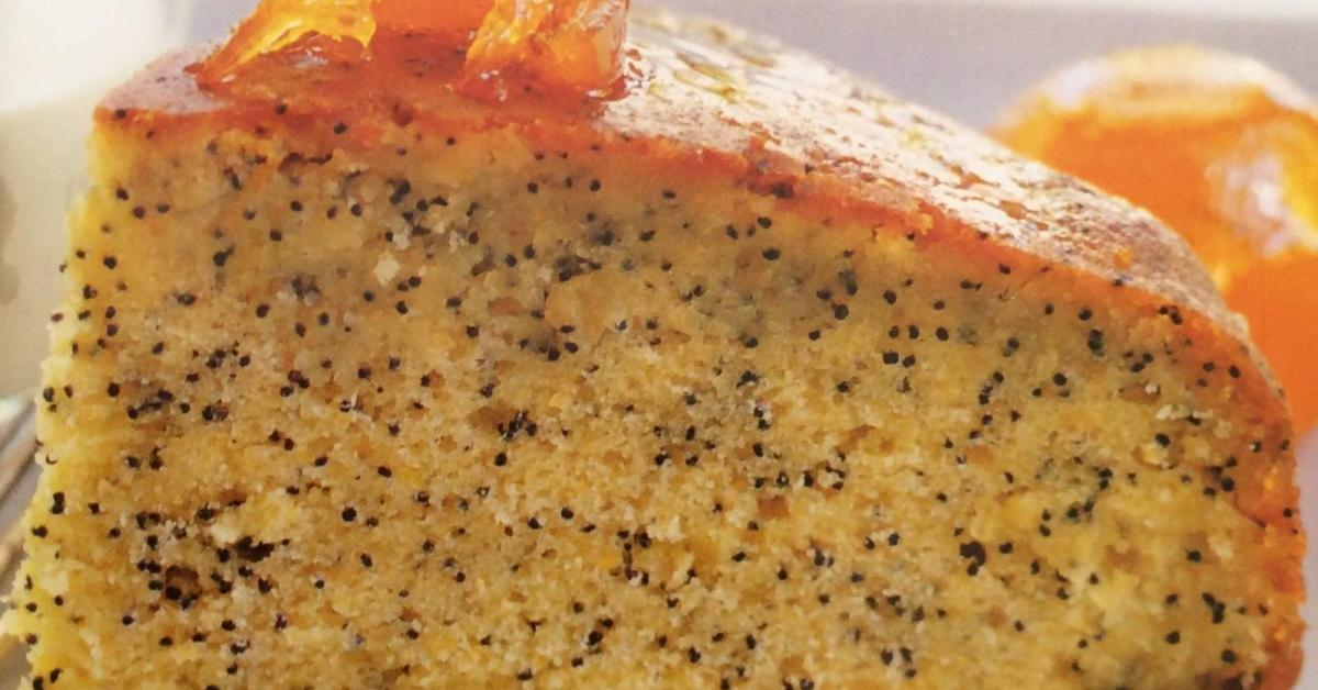 Orange Poppy Seed Cake Recipe Woman