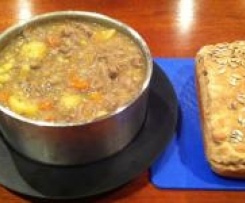 Irish Stew served with Rustic Bread