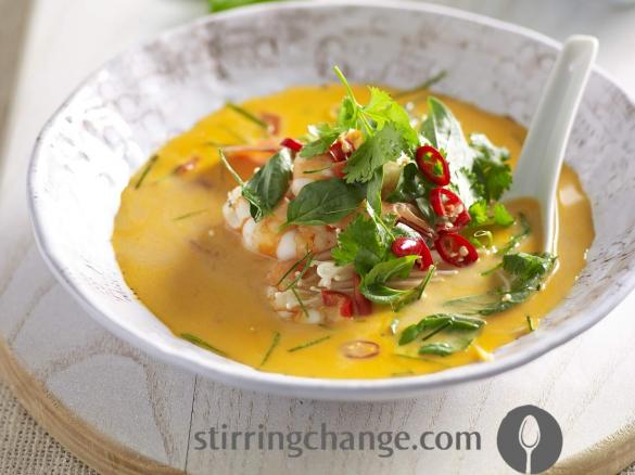 Tom Yum Soup By Stirring Change A Thermomix Sup Sup Recipe In
