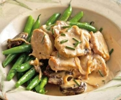Creamy Pork & Vegetables