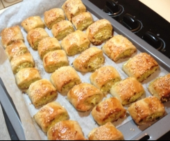Healthy Chicken and Vegetable Sausage Rolls