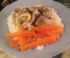 Lemon and GInger Steamed Chicken