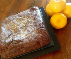 Chocolate mandarin cake