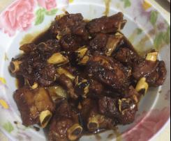 Shanghainese Sweet Sour Pork Ribs 上海糖醋排骨
