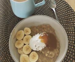 Banoffee Porridge