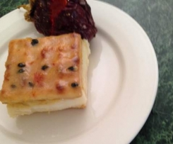 Passionfruit slice - JJ's Spicy Thermo Kitchen