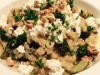 Barley Risotto with Zucchini, Walnuts and Feta