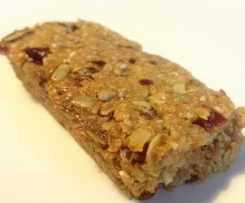 Lunch Box Friendly Museli Bars