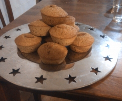 Bran Oatmeal Muffins