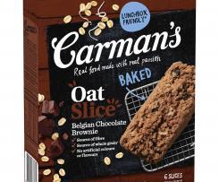 Bec's (Carmen's) Oat Slice Choc Brownie